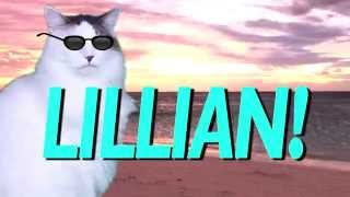 HAPPY BIRTHDAY LILLIAN! - EPIC CAT Happy Birthday Song