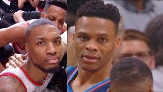 Damian Lillard SHUTS UP RUSSELL WESTBROOK ONCE AND FOR ALL WITH GAME WINNER VS THUNDER IN GAME 5!