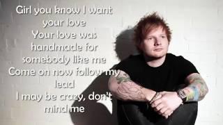 Ed Sheeran   Shape of you Lyrics