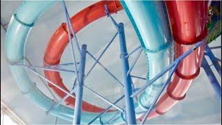 Extreme Racing Matt Slides @Fallsview Indoor Waterpark| Thunder & Lightning