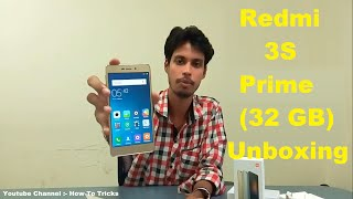 Xiaomi Redmi 3S Prime 3GB RAM 32GB Internal Memory Budget Smartphone Unboxing & Overview Hindi /Urdu