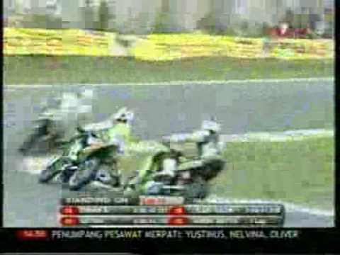 INDOPRIX 2009 ROUND 4 125cc part 2