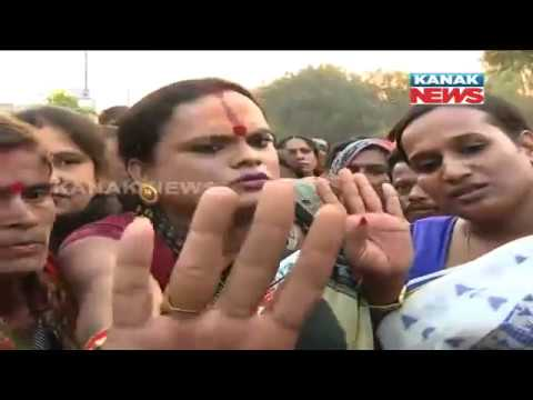 Mayor Sex Tape: Protest March By Supporters of Mayor Near Congress Bhawan