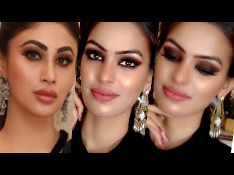 Xxx Mp4 Mouni Roy Inspired Black Smoky Eyes Nude Lip Makeup Using Only Wet N Wild Makeup Products Priya Deep 3gp Sex