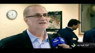 Iran Launches Satellite ایران پرتاب ماهواره