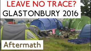 Glasto 2016 tent walkabout