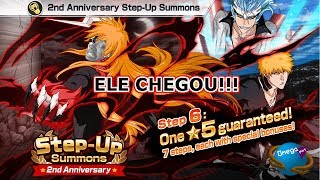 Bleach Brave Souls : Level 200 Free + Summons Step-UP