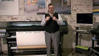 How to Use the Counter Weights on Your HP Latex Printer