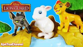 LION GUARD Disney Junior Defend The Pride Lands Play Set, Lion Guard Kion Parody by Epic Toy Channel