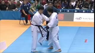 Best Ko:Darmen Sadvokasov_Russia)Vs Mario Christi Suyoto_Indonesia)/ippon by Mawashi Geri