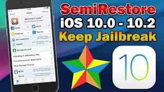 How to Reset iOS 10 Jailbreak to Original State Without Restoring (SemiRestore10-Lite)
