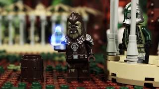 Yoda + Wookies = Unstoppable - LEGO STAR WARS - Stop-Motion Story