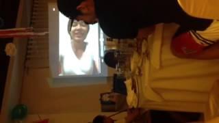 Mika Reyes video greeting to Kiefe Ravena