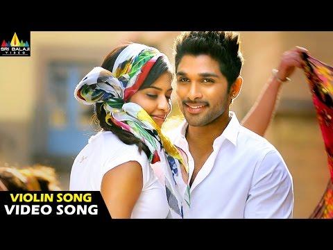 Iddarammayilatho Songs | Violin Song (Girl Just) Video Song | Latest Telugu Video Songs | Allu Arjun
