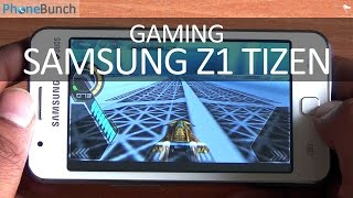Samsung Z1 Tizen Gaming Review