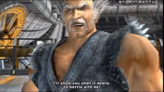 Tekken 5 (PlayStation 2) Story Battle as Heihachi