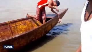 Pirana avı böyle yapılır.