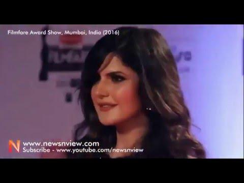 Xxx Mp4 Glamorous Beauty And Sexy Zarine Khan At Filmfare Awards 2016 In Mumbai 3gp Sex