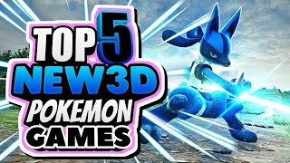 Top 5 Best 3D Pokémon Games for Android in ENGLISH | New 2019 | Gameplay+Download Links