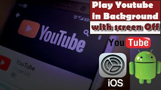 Andriod Trick, This Trick Lets YouTube Play In The Background