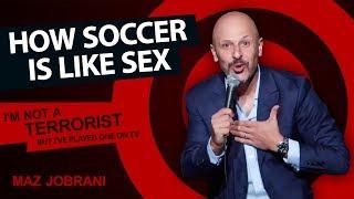 """How Soccer is like Sex"" | Maz Jobrani - I"