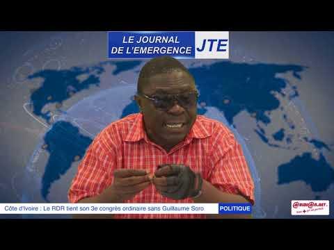 JTE   3e congrès du  RDR sans Guillaume Soro, Gbi de Fer prévient