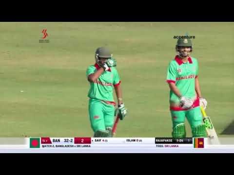 Xxx Mp4 Bangladesh VS Sri Lanka Hong Kong World Sixes Cricket 2017 Ban Won By 7 Runs 3gp Sex