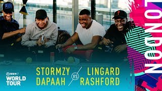 FIFA 19 World Tour | Lingard & Rashford vs Stormzy & Dapaah