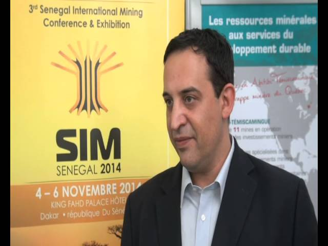 Dan COBERMAN, Manager of AME TRADE talks about the 3rd Mining Conference and exhibitions in Dakar, Senegal