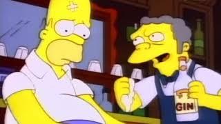 I Simpson ITA - Homer pestato dai padri di Patata, Spada e Secco Jones