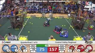 Quarterfinal 7 - 2017 Central Valley Regional