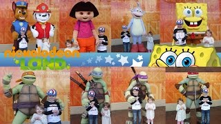 ALL Character Meet and Greets at Nickelodeon Land Blackpool Pleasure Beach