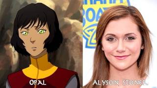 The Legend of Korra - Characters and Voice Actor (Book 1~4); 코라의 전설 성우들