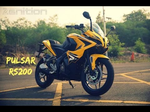 Bajaj Pulsar RS200 First Ride Video Review ZEEGNITION