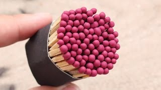 4 Matches Life Hacks YOU SHOULD KNOW !