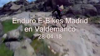 Enduro E bikes Madrid en Valdemanco