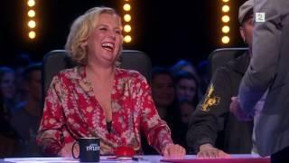 Norske Talenter dommerne rundlurt av korttriksene til Fredrik 23