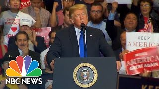 Watch live: President Trump holds campaign rally in Las Vegas