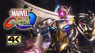 IT BEGINS! Story Mode Pt. 1 - Marvel Vs. Capcom Infinite