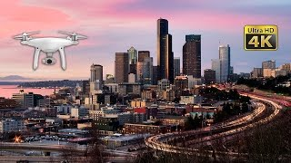 Amazing Drone Captures Seattle Landmarks from Above in 4K Ultra HD