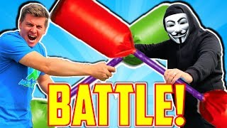 Project Zorgo Ninja Battle In Real Life! Last To Leave Circle Wins!