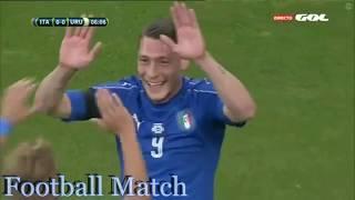 Italy vs Uruguay 3-0 All Goals & Full Highlights 07-06-2017