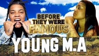 YOUNG M.A - Before They Were Famous - OOOUUU