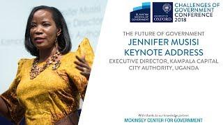 Keynote address by Jennifer Musisi, Executive Director, Kampala Capital City Authority, Uganda