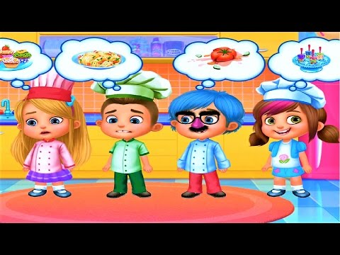 Little Chefs Play Fun Cooking & Making Foods Kitchen Fun Game for Kids