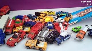 Toy Cars For Children I Vidio banyak mobil - mobilan meluncur