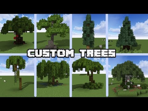 Xxx Mp4 13 Custom Tree Designs For MINECRAFT 1 14 Vanilla WORLD DOWNLOAD 3gp Sex