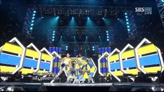 Hyun A, T ara, SeeYa, Rainbow    Mickey Inki Gayo 2010 01 31