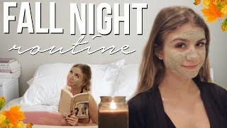 FALL NIGHT ROUTINE | Siena Mirabella