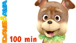 Bingo Dog Song | Kids Songs & Nursery Rhymes | Dave and Ava